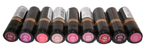 9 x Revlon Super Lustrous Lipsticks | Silky Smooth Colour | 9 Shades